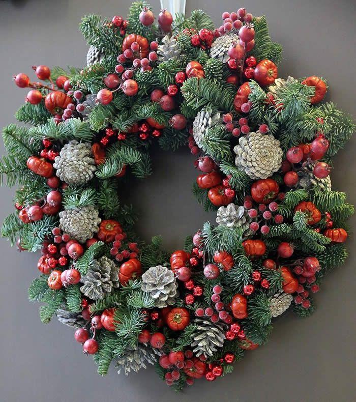 christmas-wreaths-1 #kerstbloemstukken