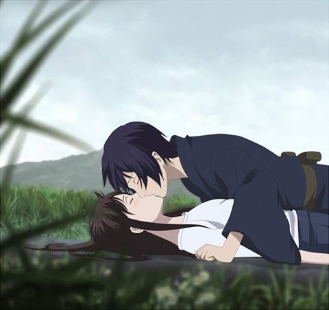 Yato And Hiyori Kiss Noragami Anime Paare Anime Bilder Anime