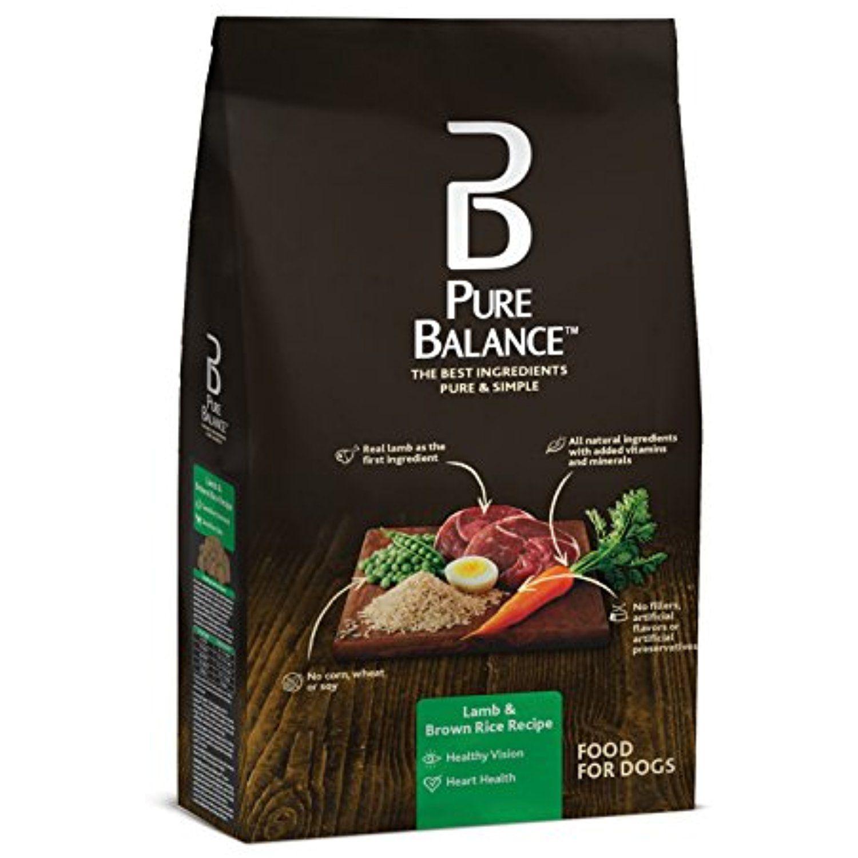 Pure Balance Dog Food Lamb Brown Rice Recipe 30 Lb You Can