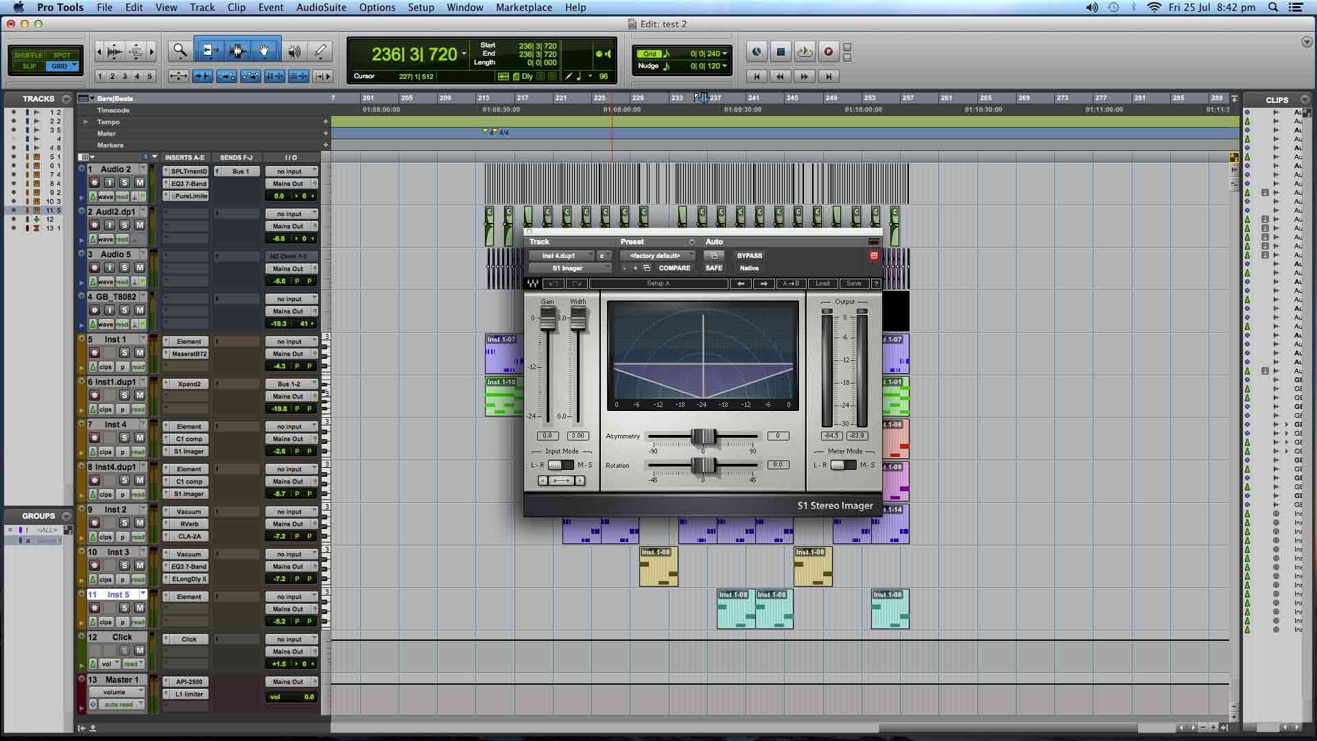 logic pro x instruments in ableton