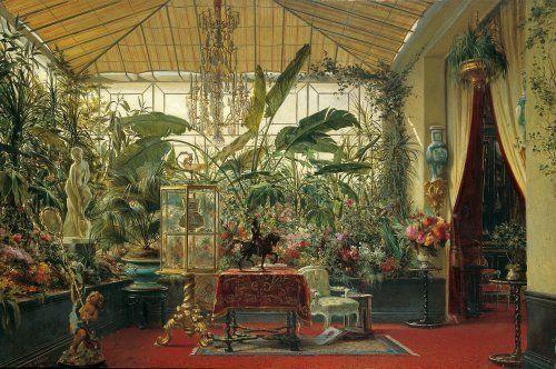 La Véranda de la princesse Mathilde dans l\'hôtel de la rue de ...