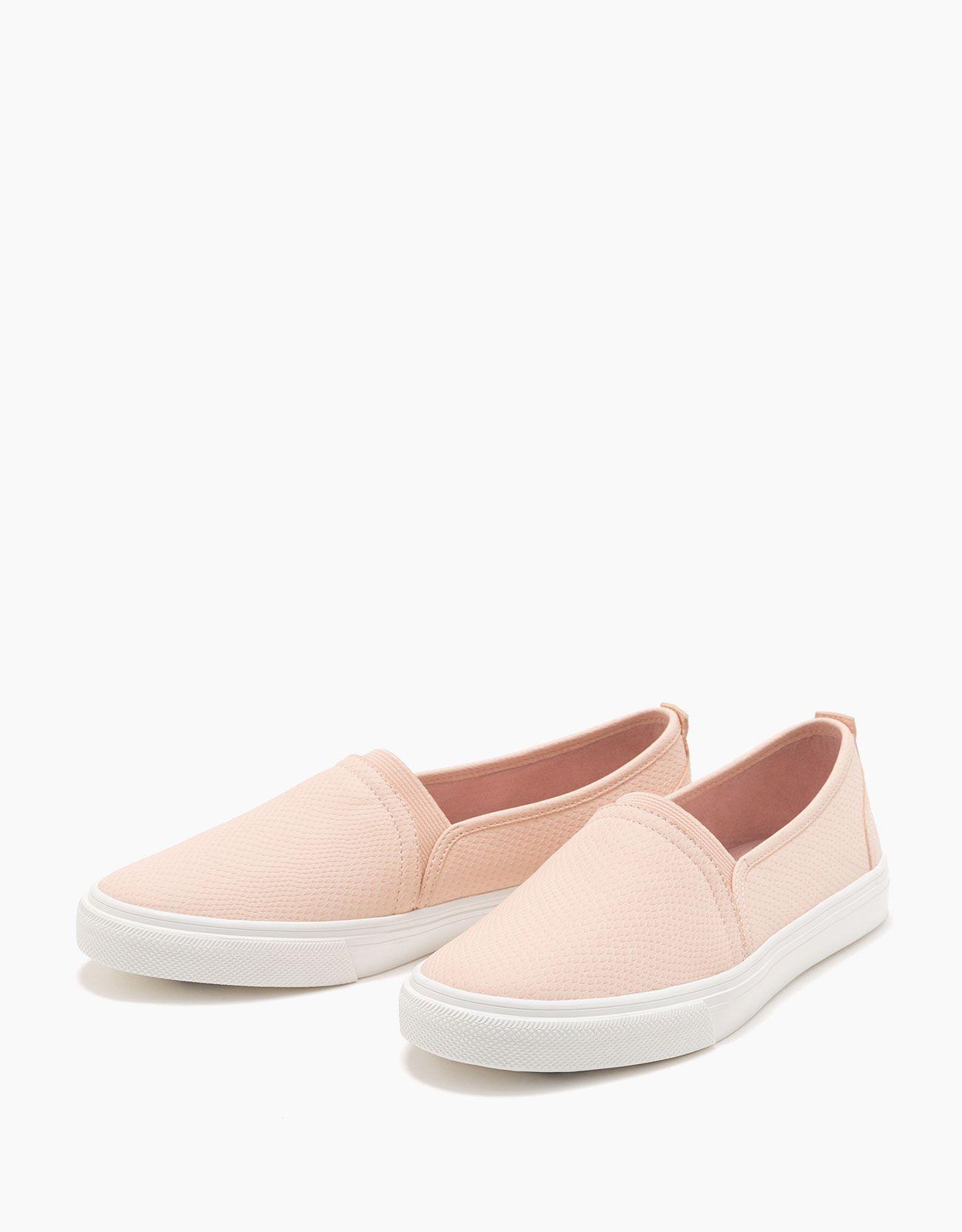 ac995c0b050c Zapatilla sin cordones grabada | sneakers | Zapatos, Zapatillas y ...