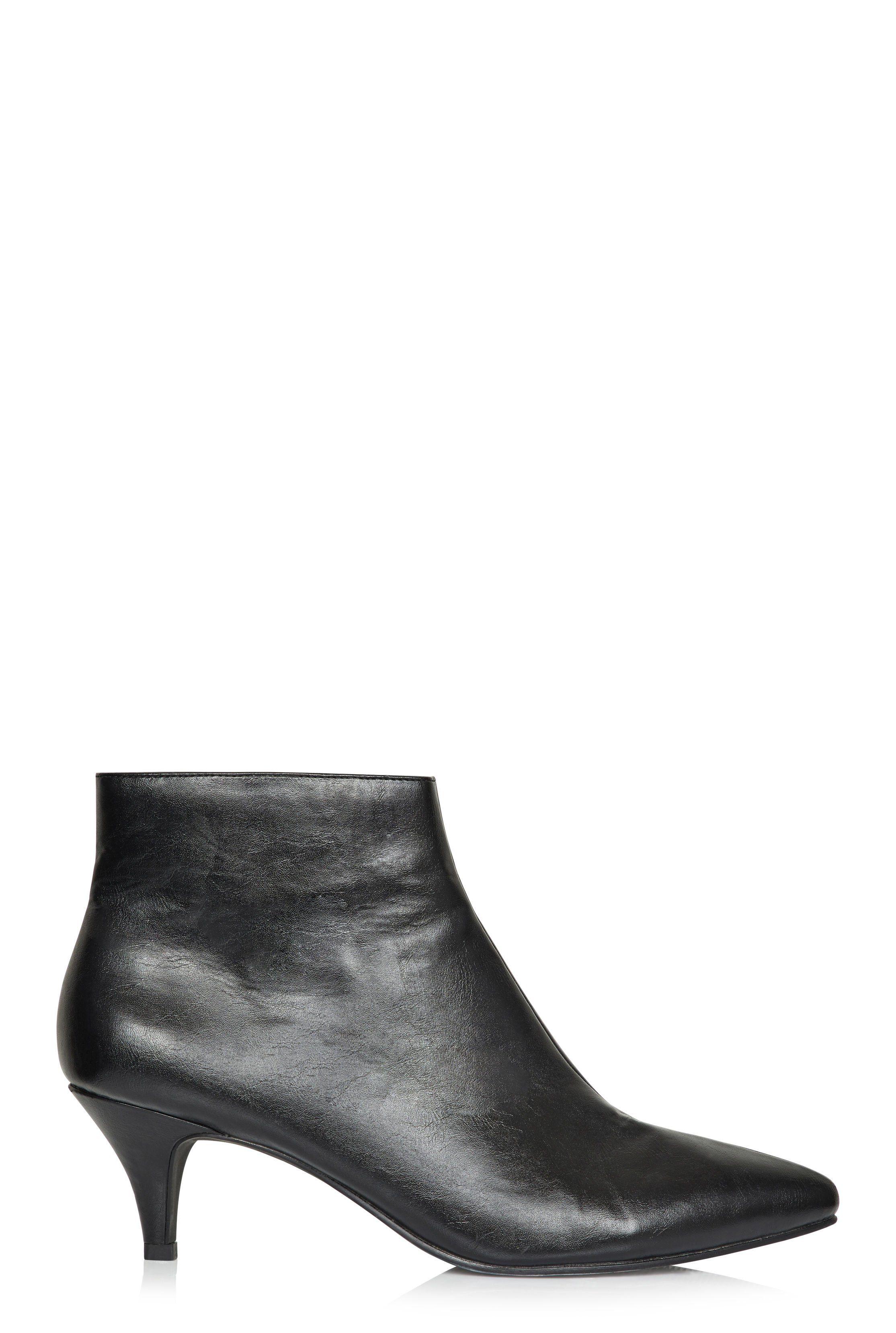 Lts Hayden Kitten Heel Ankle Boot In 2020 Kitten Heel Ankle Boots Boots Kitten Heels