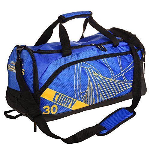 571024eaa269 Golden State Warriors Locker Room Duffle Gym Bag - Stephen Curry ...