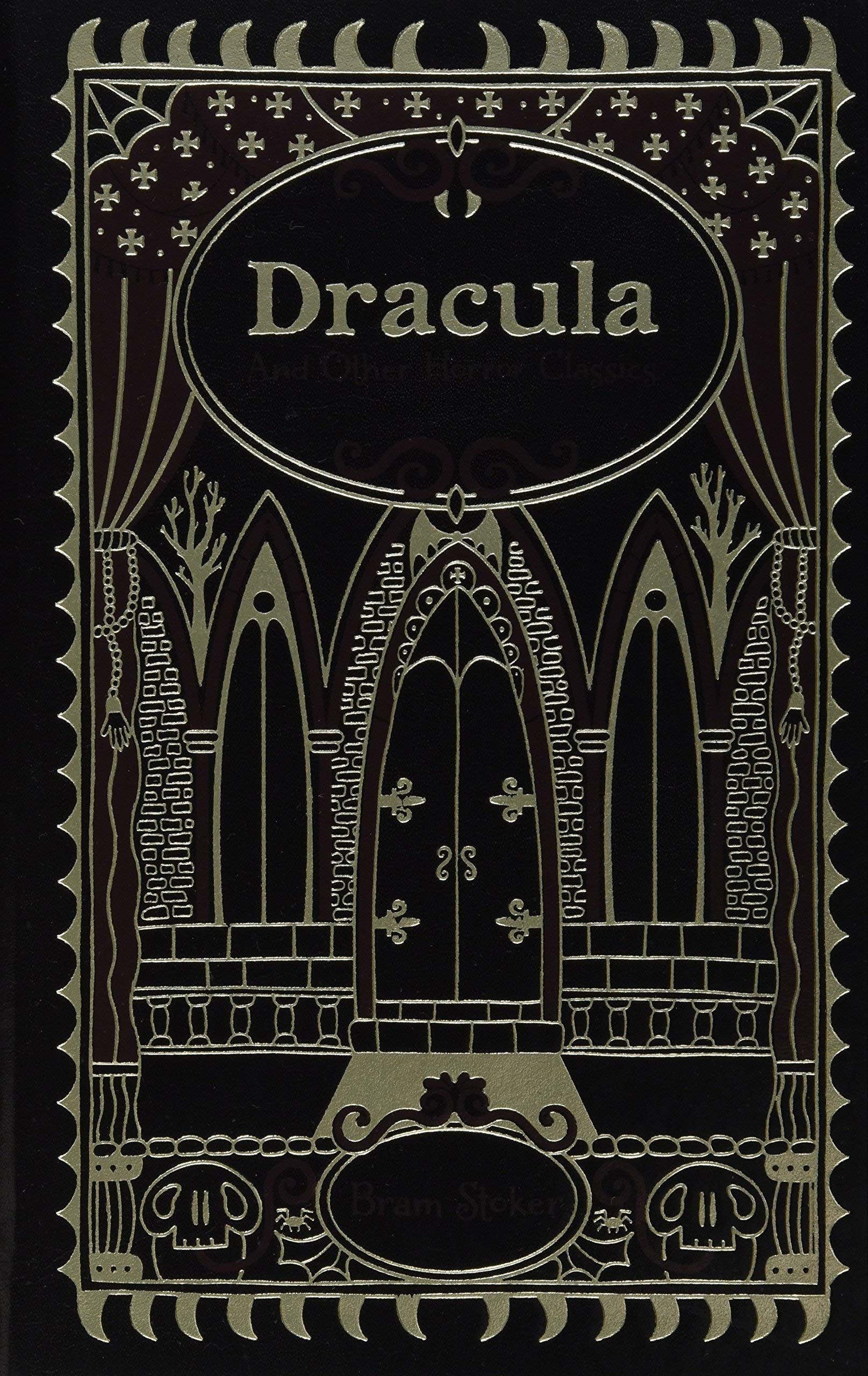 Dracula And Other Horror Classics Leatherbound Classic Collection By Bram Stoker 2013 Dracula Horror Adventures In Wonderland