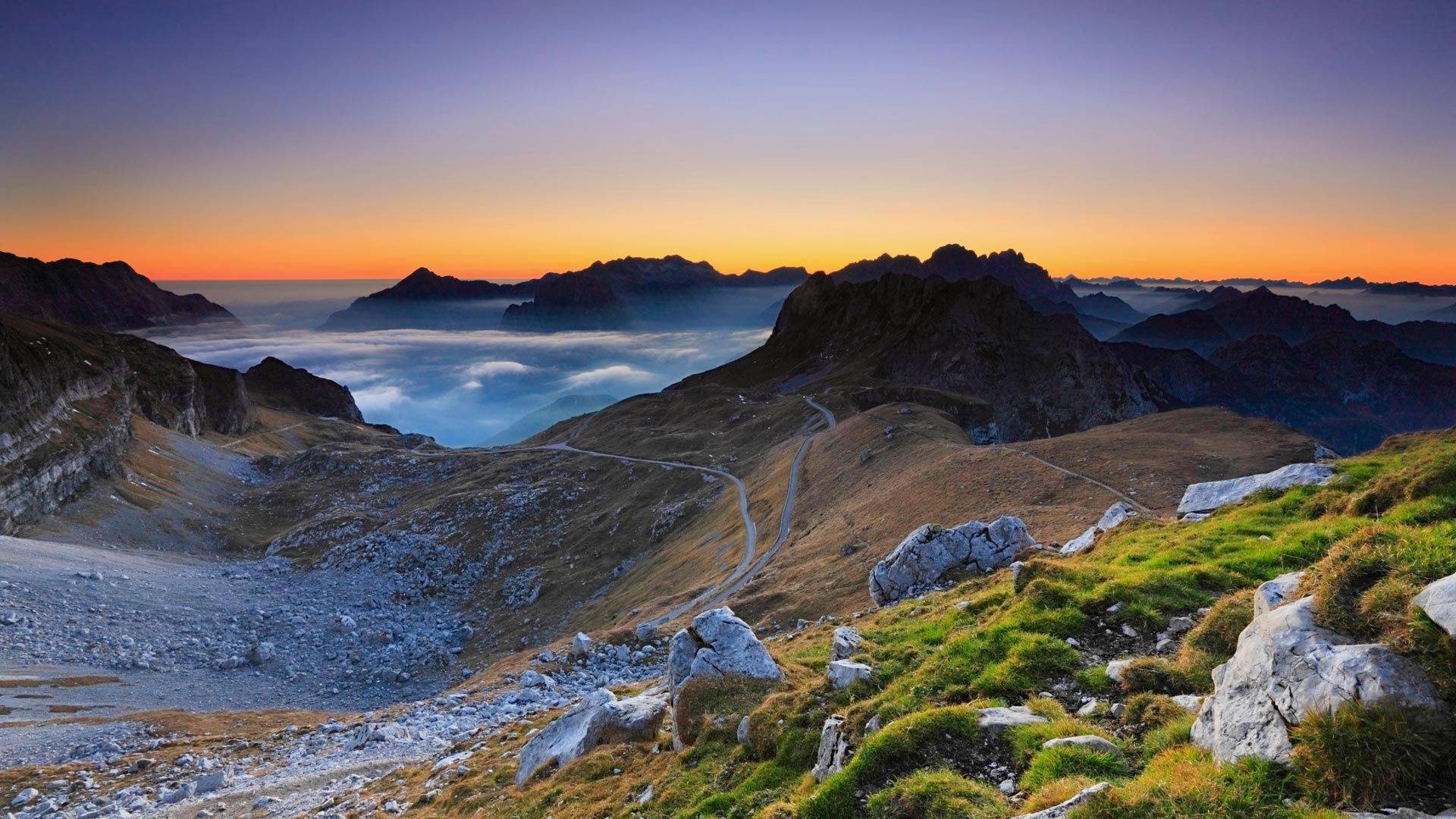 On the Slovenian side of the Julian Alps (© Nino Marcutti