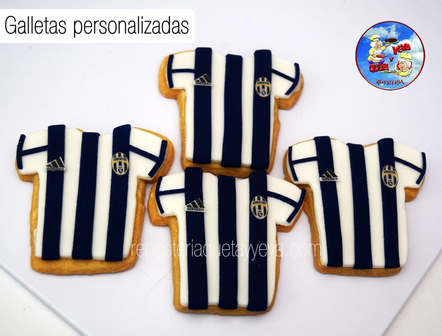 Galletas camiseta Juventus - Juventus shirt cookies  893de80a25690