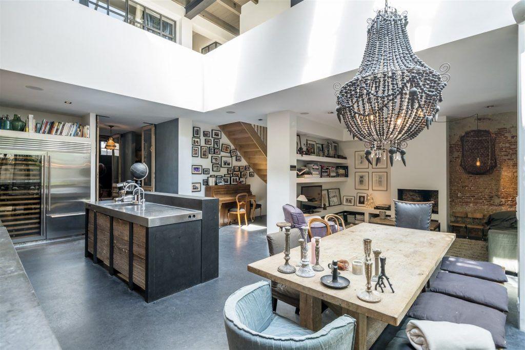 Cocina Industrial Or   Cocina Industrial Love Ladrillo Visto Architecture House In