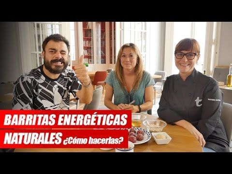 Barritas energéticas caseras y saludables - YouTube