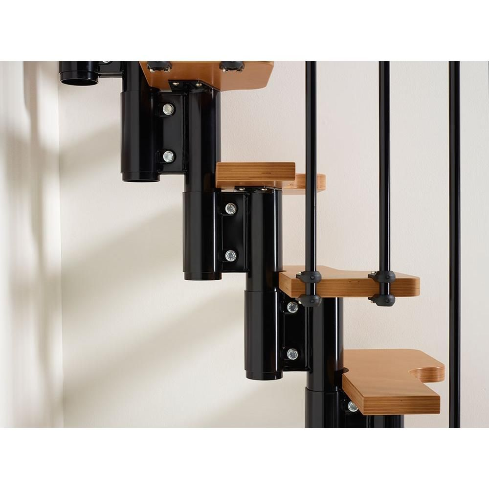 Best Arke Nice2 22 In Black Modular Staircase Kit K50104 400 x 300