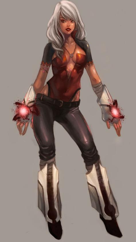 Deviantart Female Superhero Concept Art