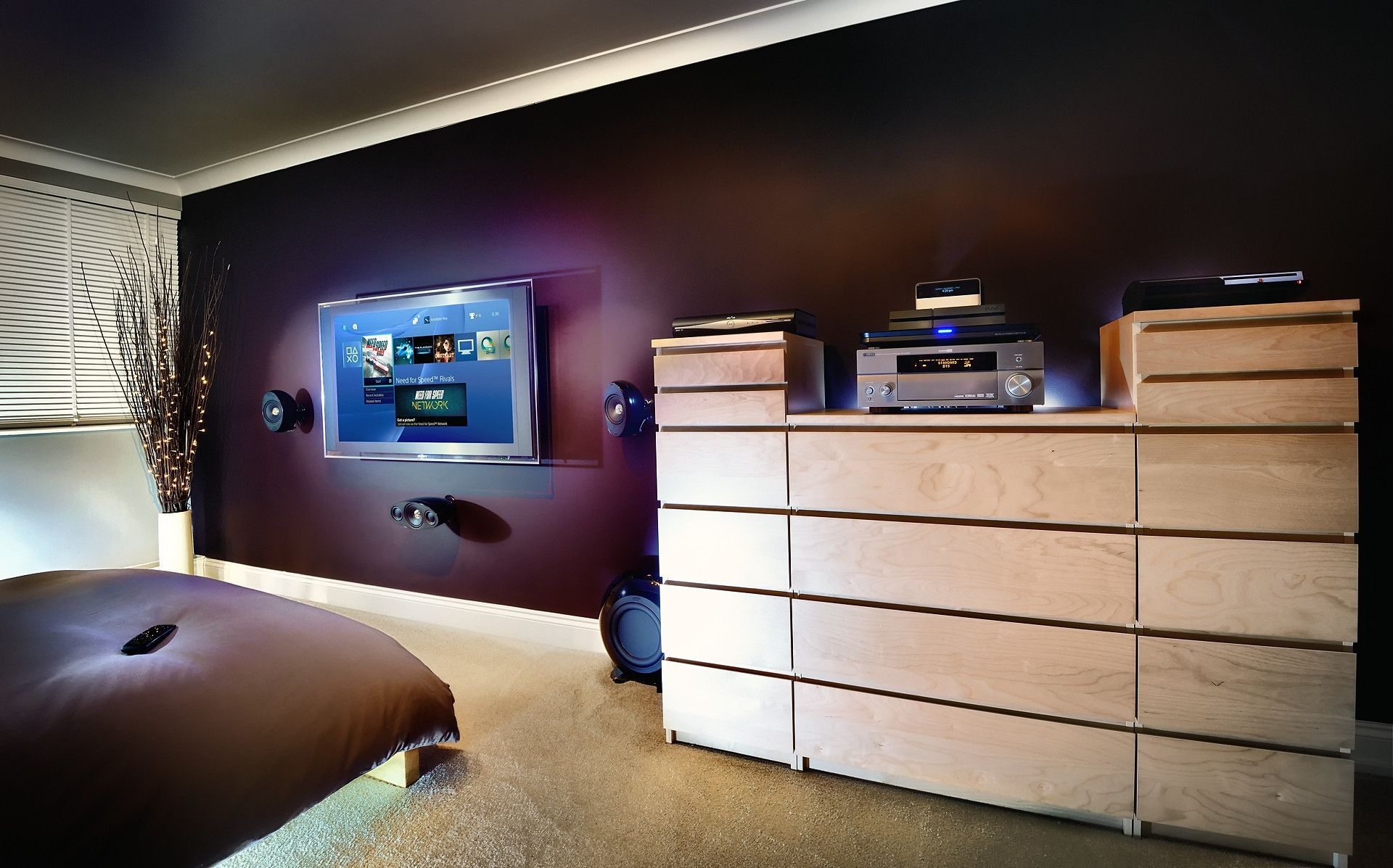 Show us your gaming setup! - Page 20 - PlayStation Forum | bedroom ...