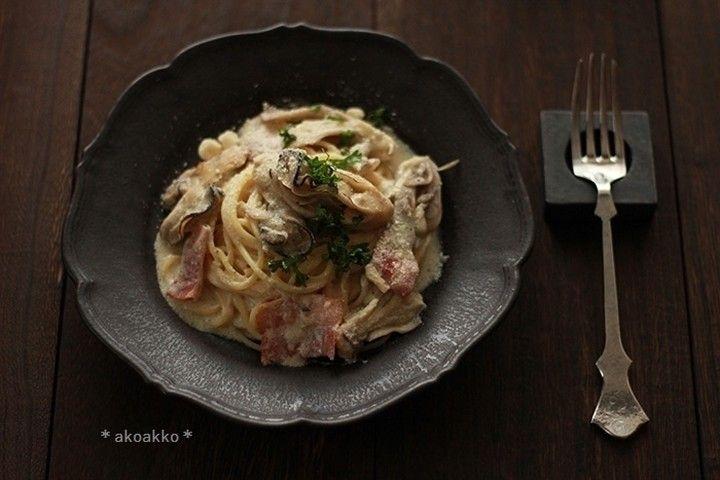 akoakkoさんの牡蠣のスパゲティ 彩り屋さん #snapdish #foodstagram #instafood #food #homemade #cooking #japanesefood #料理 #手料理 #ごはん #おうちごはん #テーブルコーディネート #器 #お洒落 #ていねいな暮らし #暮らし #牡蠣 #オイスター #スパゲッティ #パスタ #pasta #よるごはん #ディナー #dinner https://snapdish.co/d/a55z1a