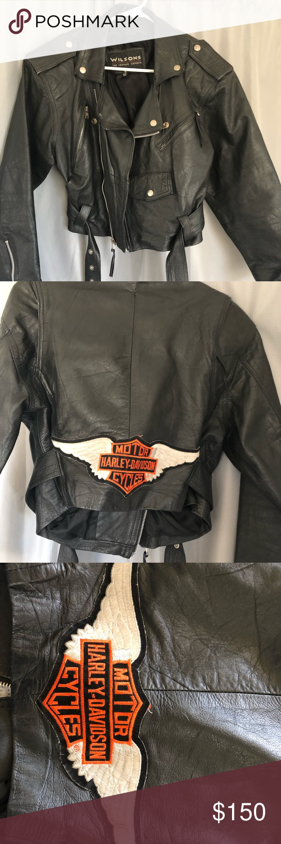 SALE MUST GO 🔥 Genuine Harley Davidson leather Harley