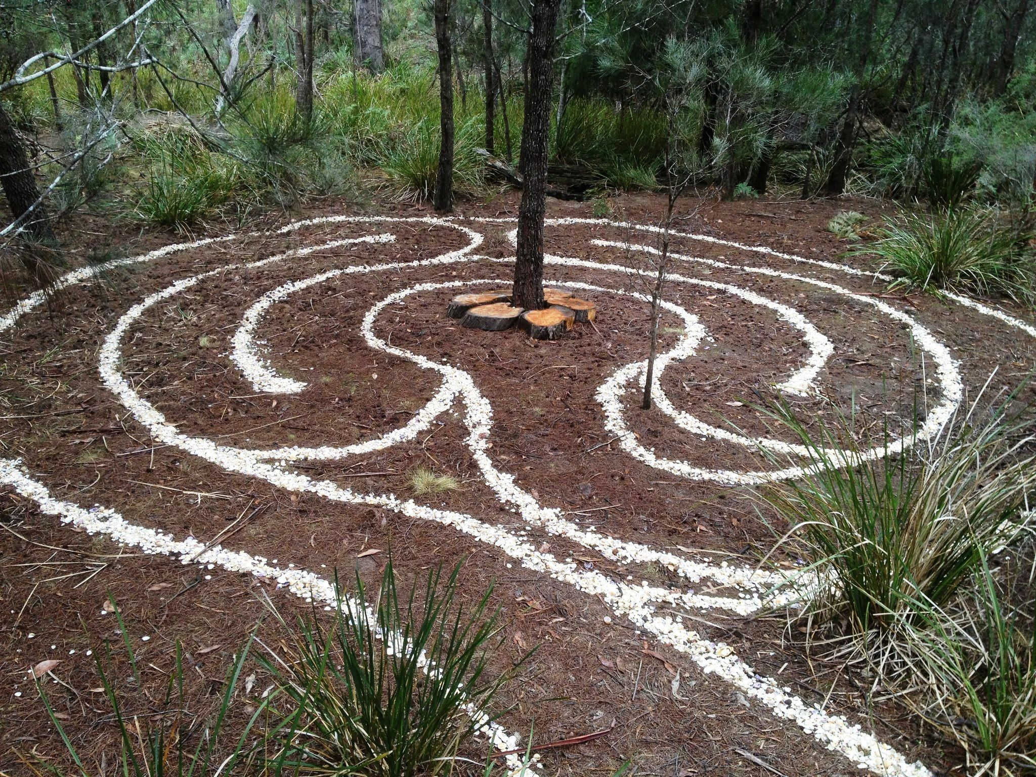 Pin By Susie Baugh On For My Garden Pinterest Labyrinth Circuit Classical From A 5circuit Chartres Maze Easy To Create This Play Space Instead Of Boring Pathway With Repurposed