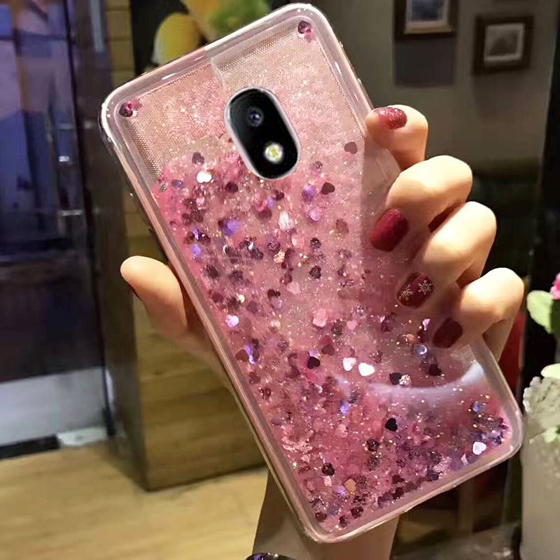 on sale c2e22 ffa20 Glitter Bling Cover For Samsung Galaxy J5 2017 Case J5 Pro Silicon ...