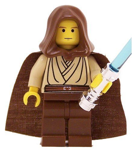 Obiwan kenobi young with hood and cape yf lego star wars figure read more