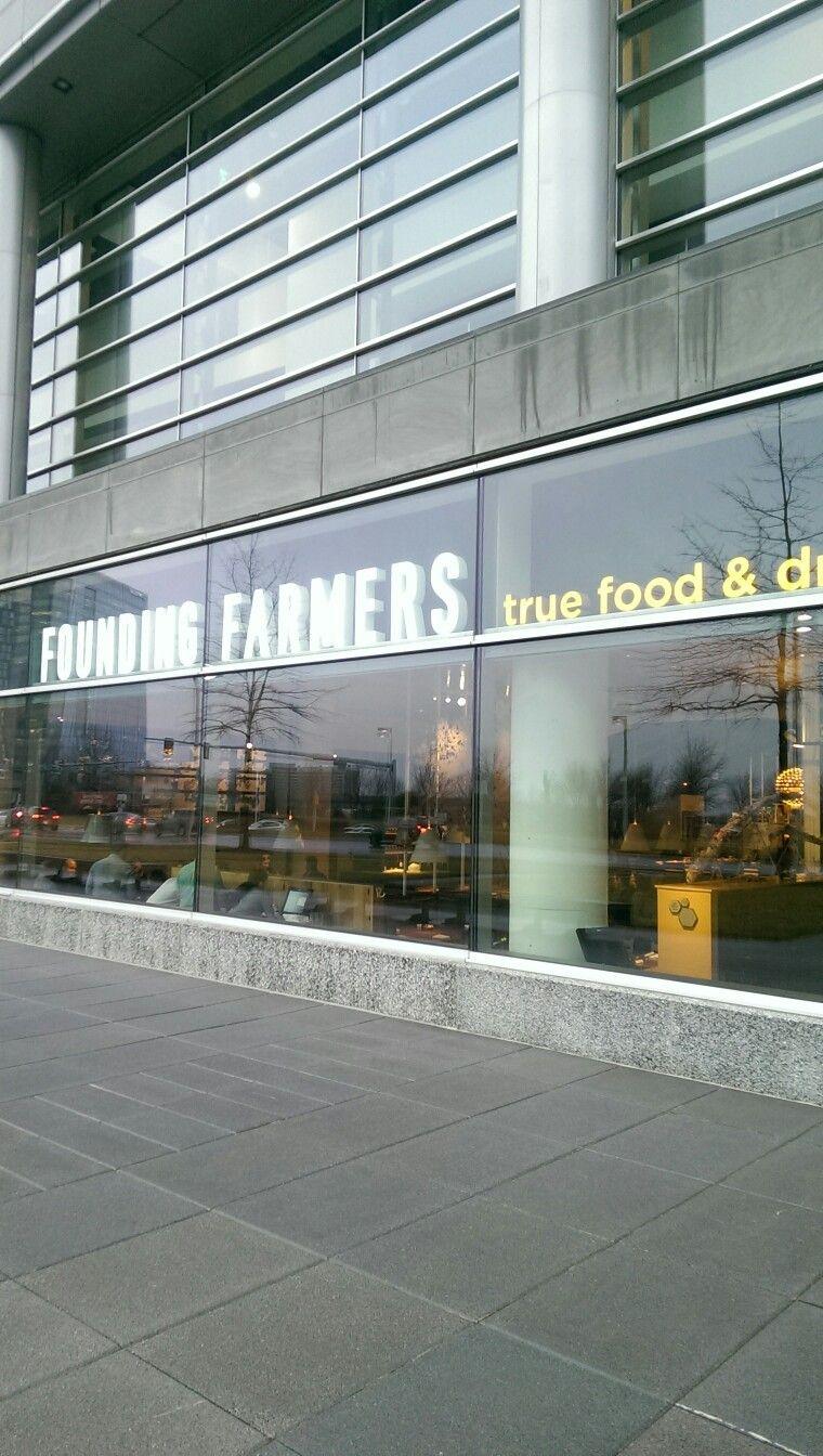 Nice place to eat. Founding farmers. foundingfarmers