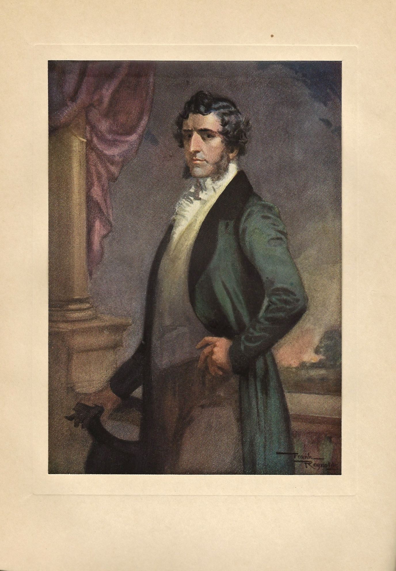 mr murdstone a illustration by frank reynolds for charles  characters in david copperfield david copperfield