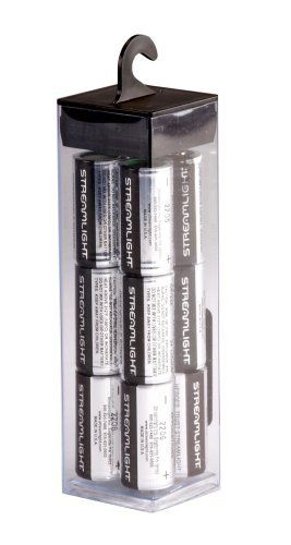 Streamlight 85177 Cr123a Lithium Batteries 12 Pack By Streamlight 21 91 From The Manufacturer The 3v C Streamlight Lithium Battery Batteries