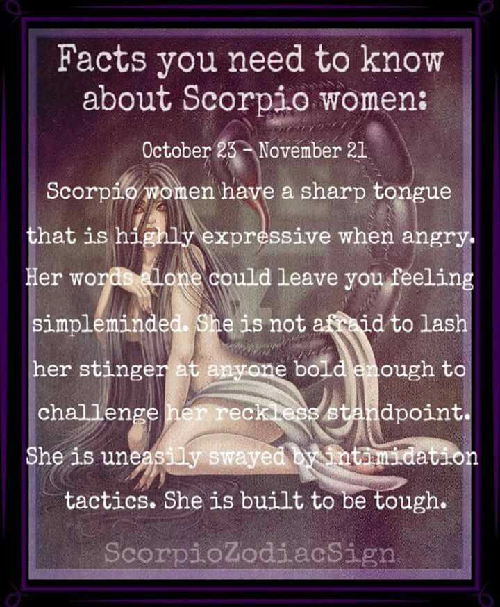 Facts You Need To Know About Scorpio Women October 23 November 21