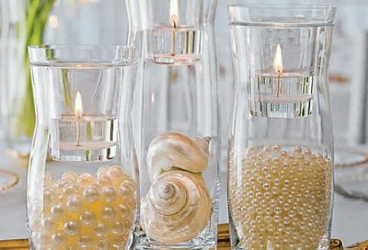 Pearl Filled vases !!!!