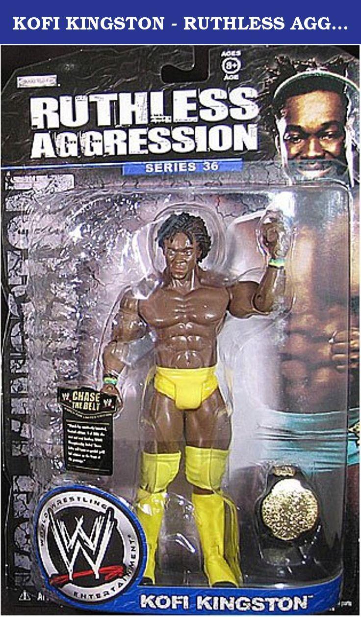 Mattel WWE Basic Series 7 Kofi Kingston Wrestling Action Figure
