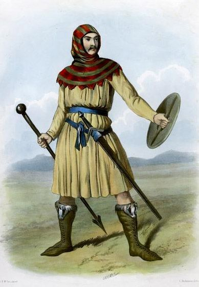Clan MacIvor, Scotland by R.R Mclan from The Clans of the Scottish Highlands | 1845