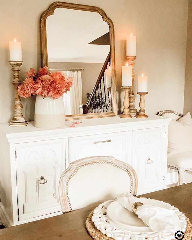18 Spring Mantel Decorating Ideas You'll Want to Copy - A Brick Home by Marly Dice