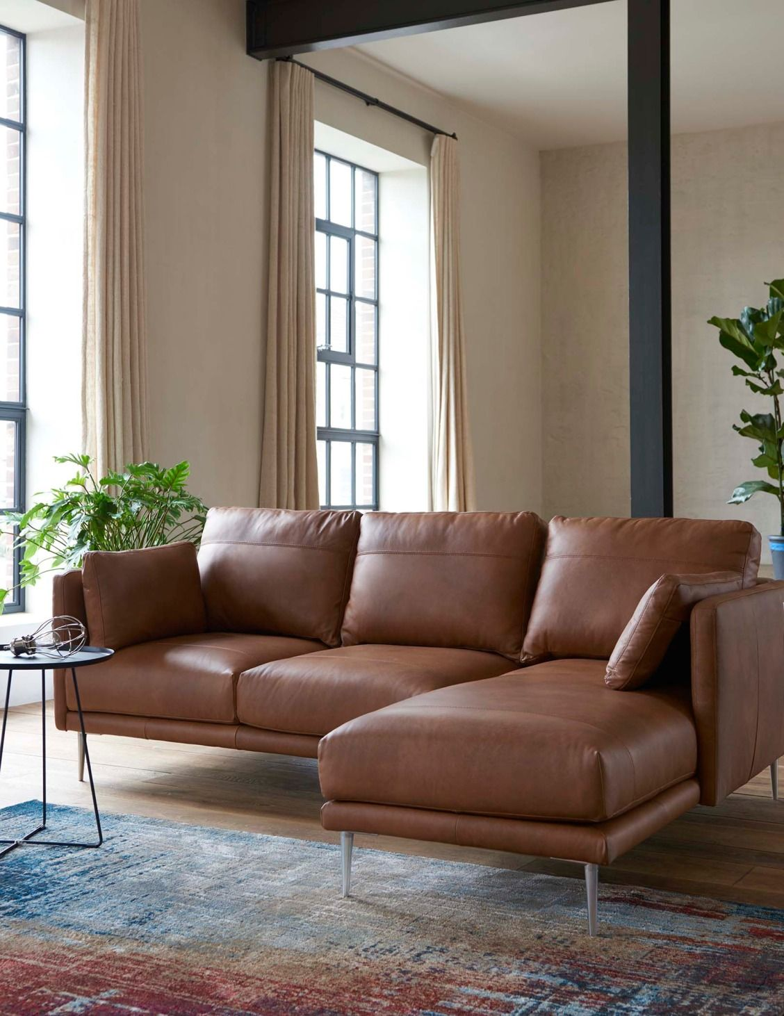 Nothing Beats A Leather Sofa And Brown Is Ideal For Transforming