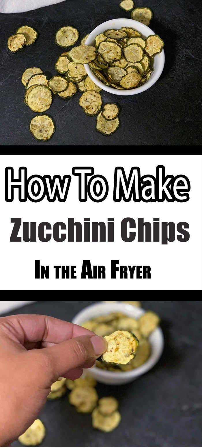 How To Make Dehydrated Zucchini Chips In the Air Fryer