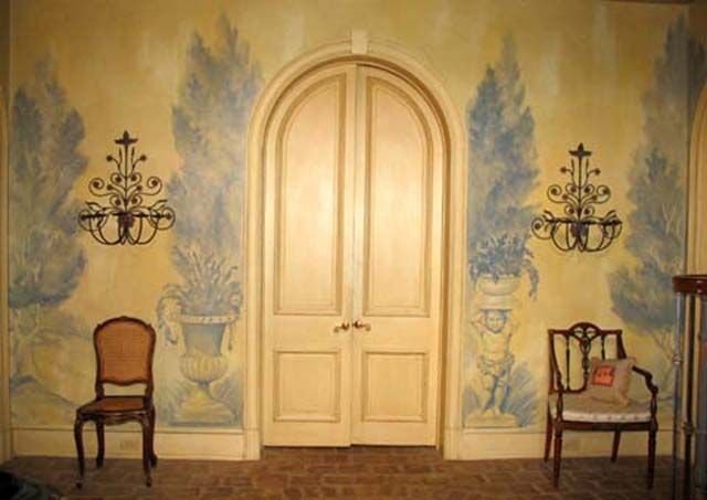 Muted painted walls | Decorative Painted Walls | Pinterest | Mural ...