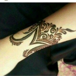 M style hinaa | Mehendi❤ | Henna, Mehndi designs 2018, Henna tattoo