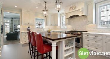 Gietvloer Kitchens Keuken : Gietvloer keuken net en keuken