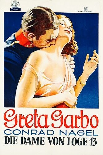 Another German poster for 'The Mysterious Lady' (1928) ...