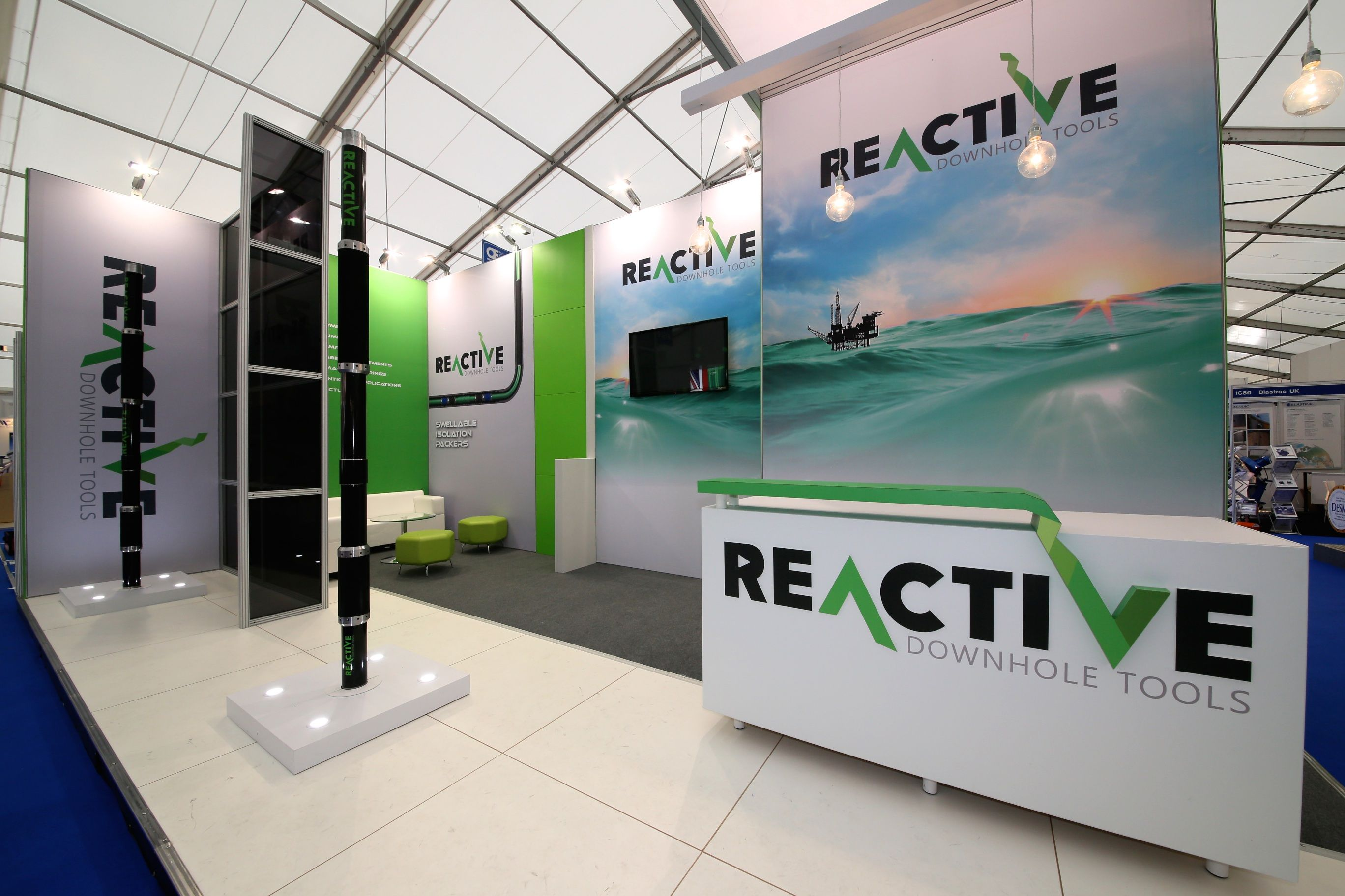 Reactive Downhole Tools Exhibition Stand at SPE Offshore Europe 2015