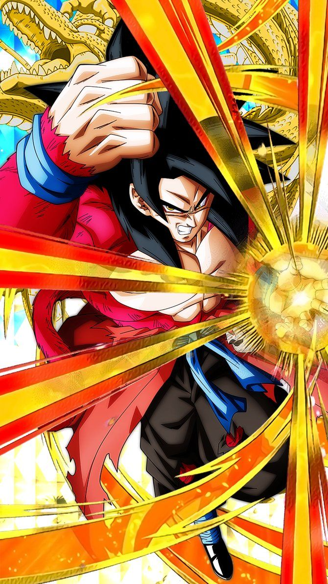 Ssj4 goku xeno 1 mobile wallpaper by davidmaxsteinbach - Dragon ball gt goku wallpaper ...