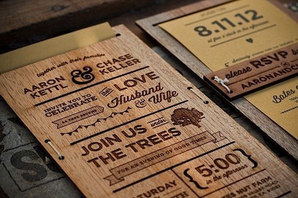 12 unique wedding invitations for the designobsessed bride and