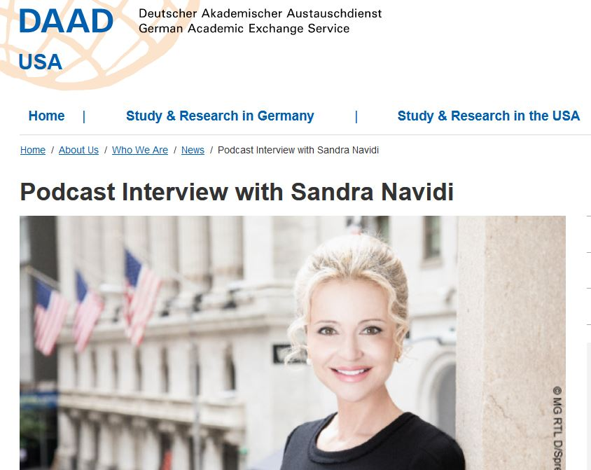"""TUNE IN: To Hanni Geist's podcast """"Coffee Connection"""", where she interviews me in English on my career and #networking advice. Hanni is senior manager at the German Academic Exchange Service (DAAD) in San Francisco #SuperHubs #BeyondGlobal #success"""