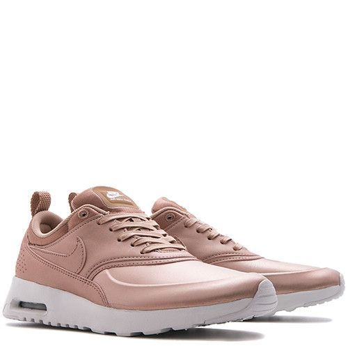 Womens Nike Air Max Thea Premium Trainers Green Brown Wheat