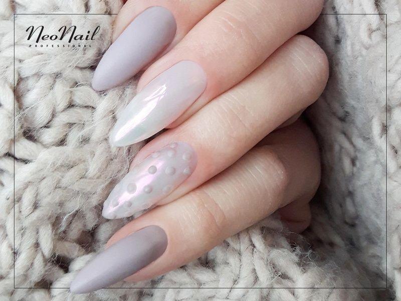 Perlowe Paznokcie Hybrydowe Pearl Effect Neonail Manicure And Pedicure Manicure Nails