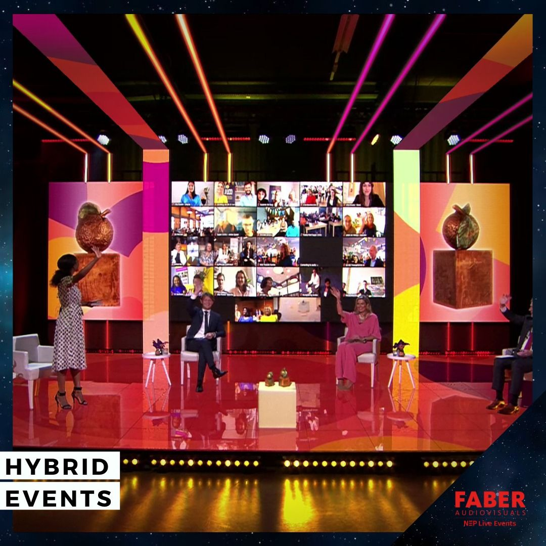 Hybrid Event Ideas In 2020 Virtual Studio Event Stage Online Event