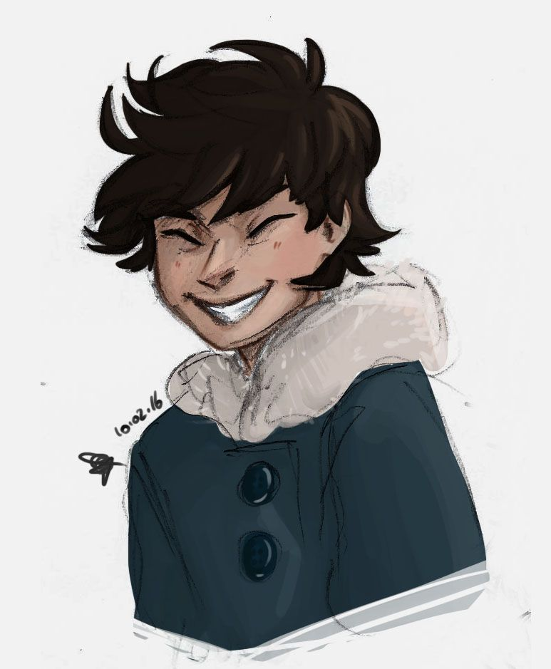 Young happy Nico Di Angelo