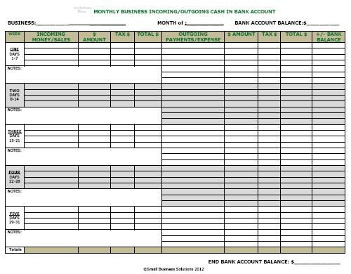 Keeping the #Business bank activity is vital for the daily - bank account forms