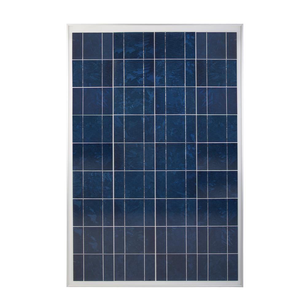 Coleman 100 Watt Polycrystalline 12 Volt Solar Panel In 2020 Solar Panels Solar Best Solar Panels