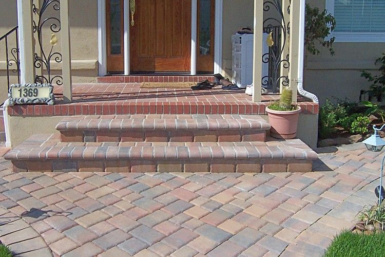 Best Paver Stairs How To Build Bullnose Steps Patio Fire 400 x 300
