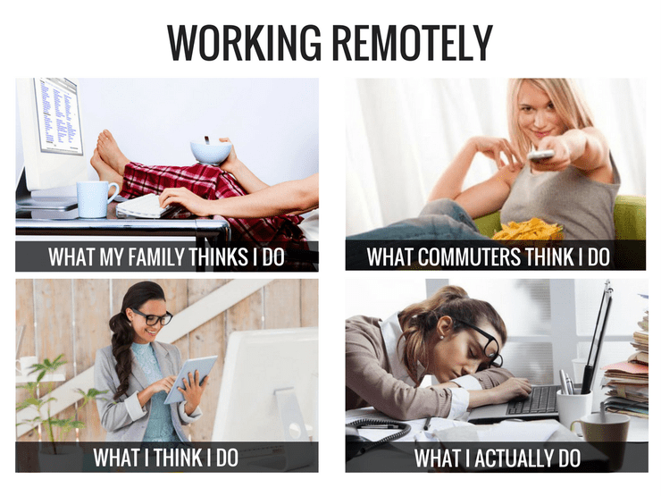 Remote Worker Working From Home Meme Remote Work Working From Home