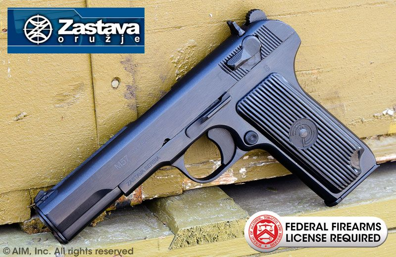 Zastava M57 7 62x25 Tokarev Pistol   Firearms   Guns, Hand guns, Tt