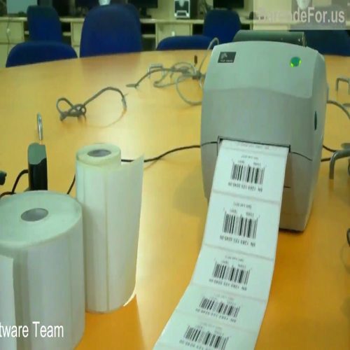 Zebra Barcode Printer working process For more information