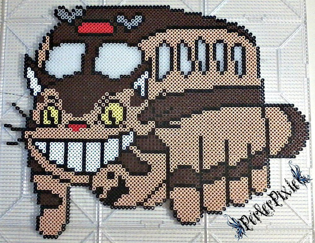 The artist has spoken and she has said make a cat bus lol i stuidio ghibli cat bus by perlerpixie bankloansurffo Images